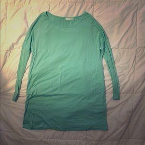 NWOT Mint Green Flowy Tunic